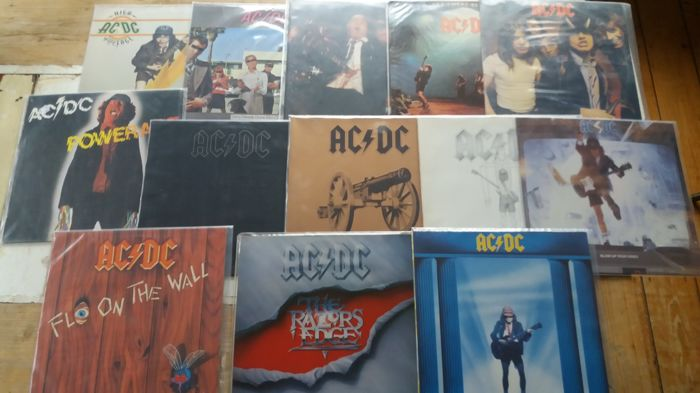 AC/DC lot of their first 13 records