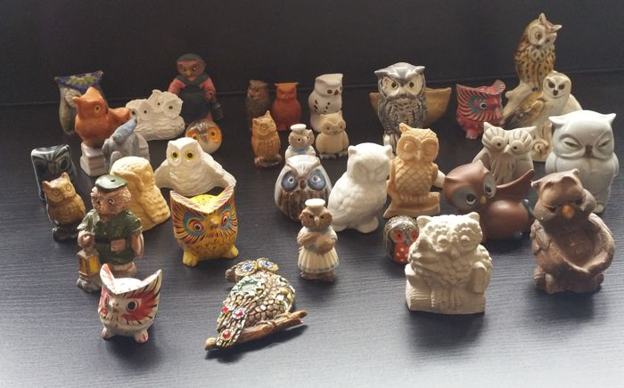 A. Collection of owls