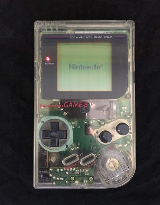 Nintendo Gameboy - 1st. generation - Mod. DMG-01 - Transparent ED.