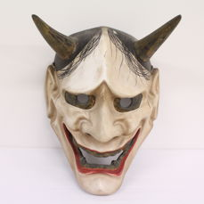 Noh mask (Nohmask hannya) - Japan - Mid 20th century