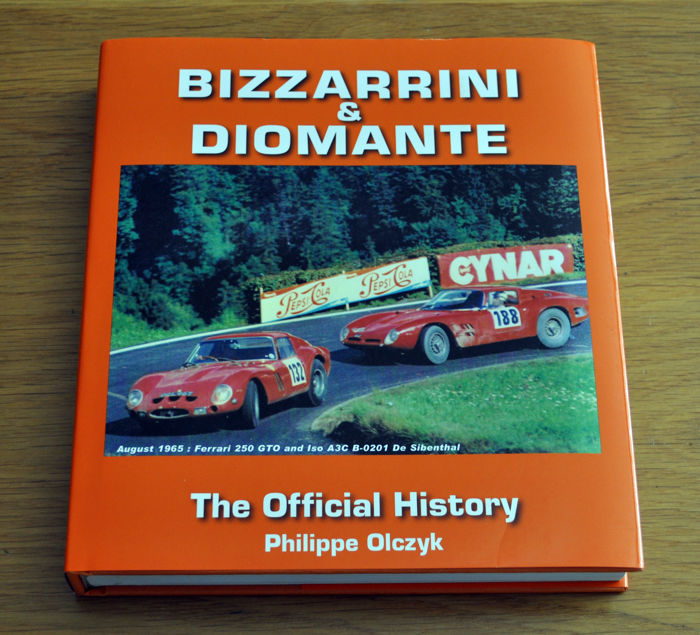 Bizzarrini and Diomante The Official History book