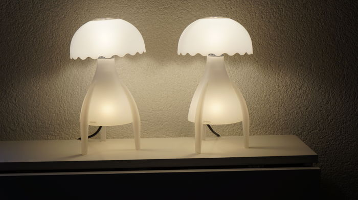 G. Giugiaro for Bilumen - 2 Medusa (Jellyfish) lamps