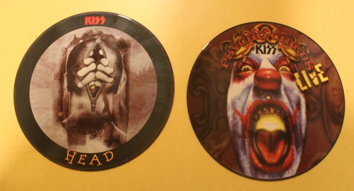 Kiss - 2 Picture Discs