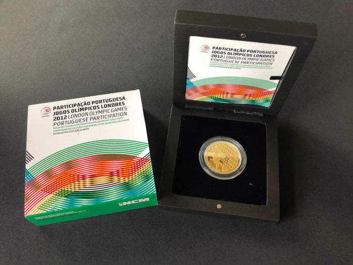 Portugal – 2.5 Euro London Olympic Games 2012 – Gold/silver