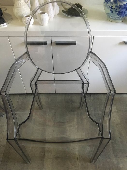 Philippe Starck for Kartell - Chair Louis Ghost
