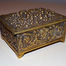 Bronze box - France - late 19th century