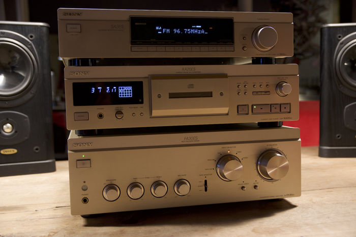 Sony TA-FA30 ES high-end set