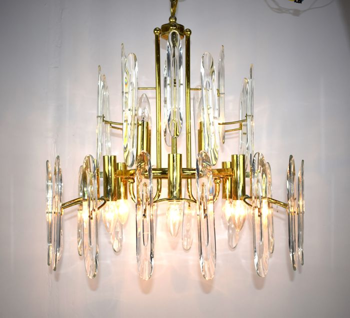 Oscar Torlasco for Stilkronen - 12-light chandelier