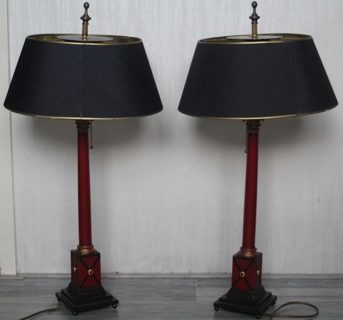 Set of beautiful Italian lamps, Italian, 20th century