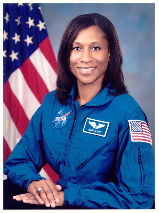 Astronaut Jeanette Epps x 2