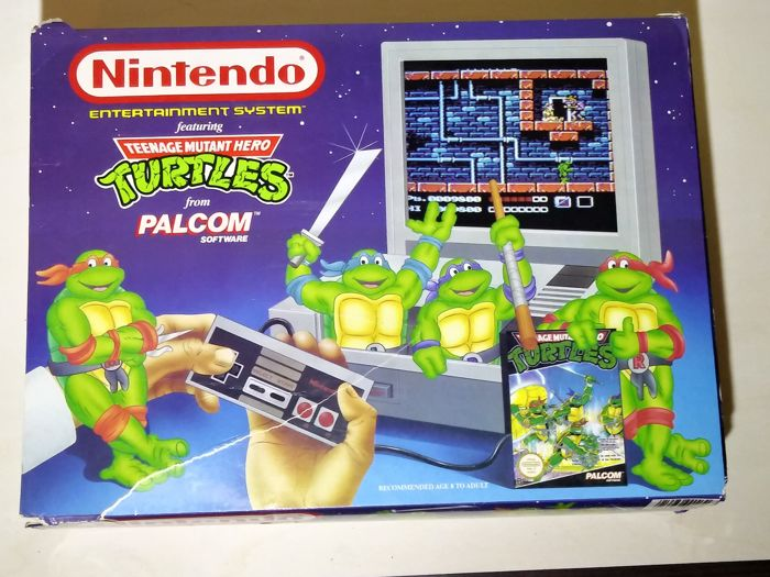 Original NES Control Deck Teenage Mutant Ninja Turtles Edition