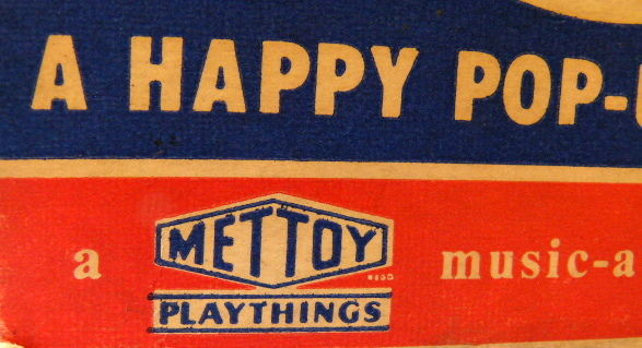 Mettoy, Great Britain - Jack in the music box, 1950s
