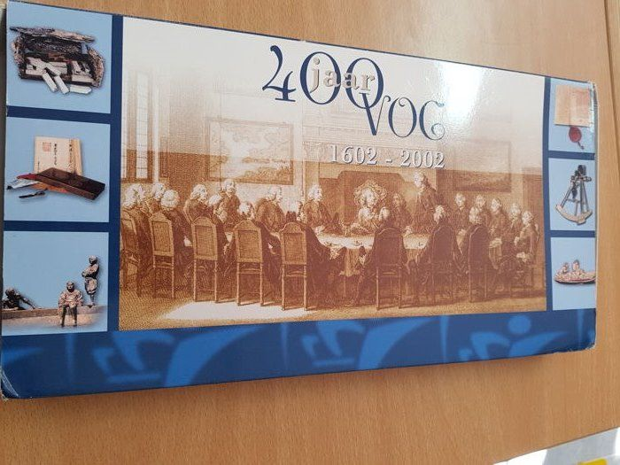Netherlands - Year set 2002 '400 years VOC 1602-2002' (6 different)