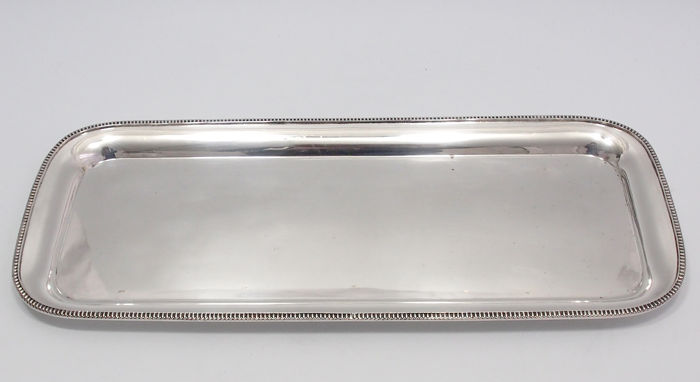 Fine Quality Long Serving Tray By George Wish, England