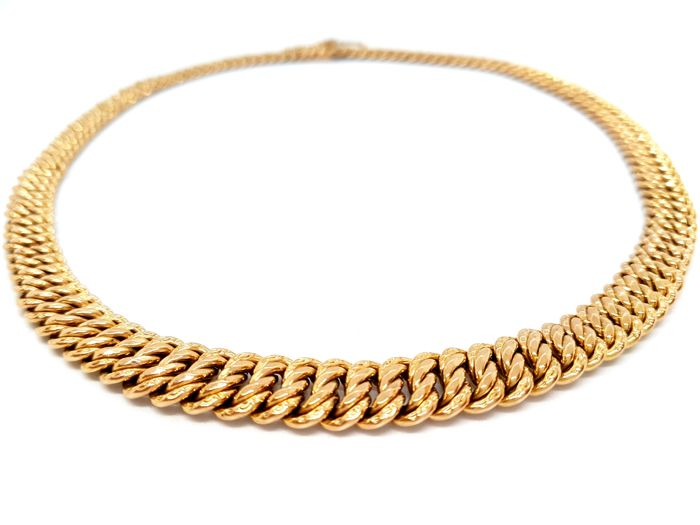 Necklace - 18 kt Yellow Gold - Rope Chain - Size: 45 cm