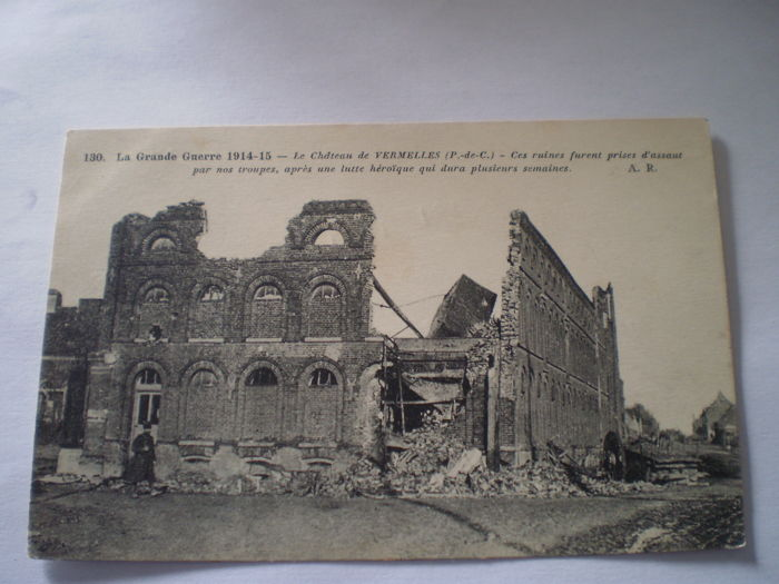 Guerre 1914-18 // WW1 // War damage  - Ruines (mostly) in France  // 95 cards with better , used and unused