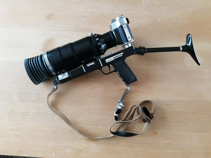 Zenit Photosniper, complete kit with lenses and accessories