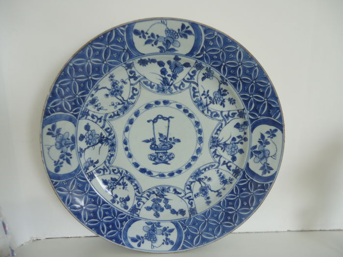 Very large Plate - China - 18th century
