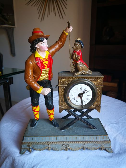 Mechanical alarm clock – T. Philippe in Paris – 20th century