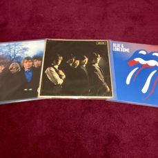 The Rolling Stones - LP same (Decca LK 4605) - 1964 - First UK mono-press+Blue & Lonesome - 2016 -2LP+Between The Buttons