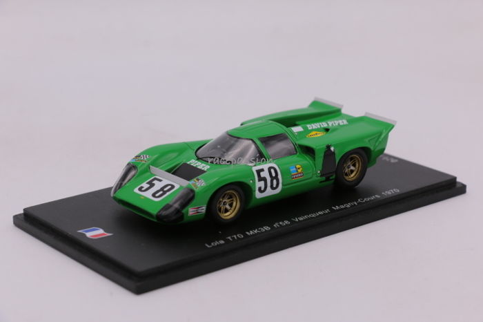 Spark - Scale 1/43 - Lola T70 MK3B - Magny Cours - 1970 - #58 - Limited Edition