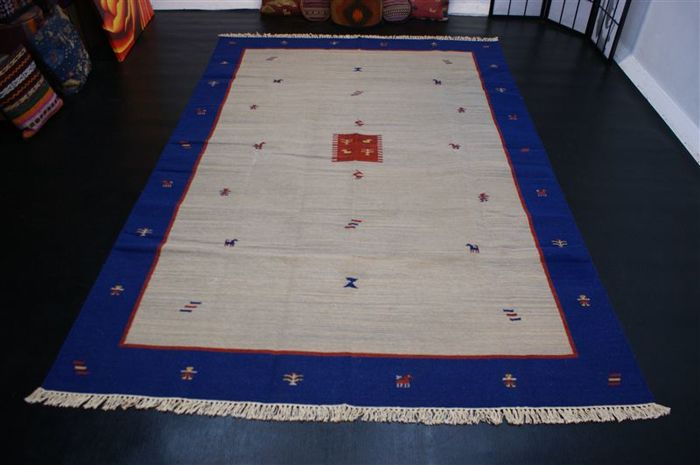 Kilim Gabbeh, approx. 300 x 200 cm, India