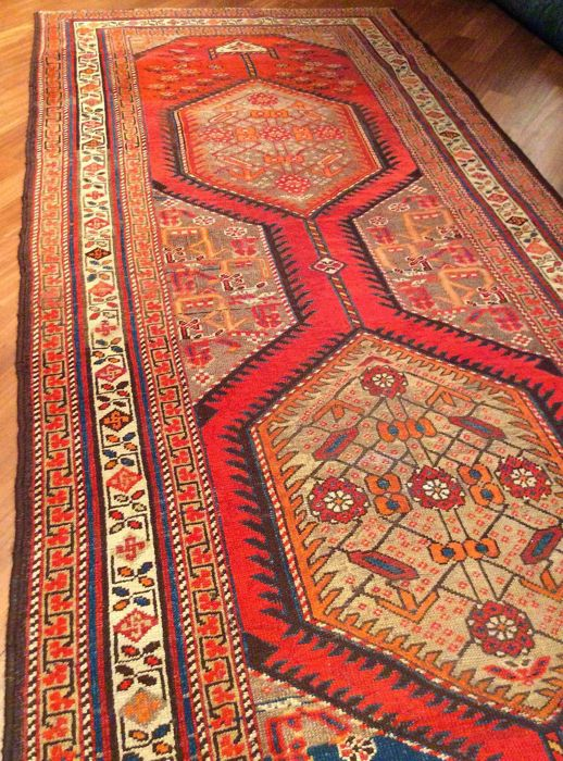Antique Northwest Persian (Azerbaijan)  Runner - Cm 543 x 110 cm