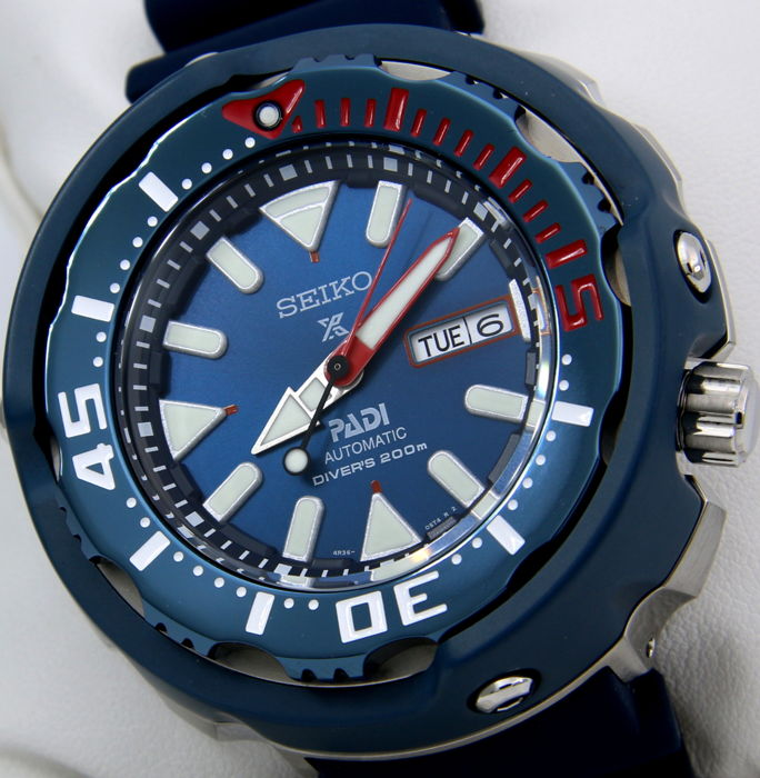 "Seiko - Automatic Diver's ""PADI - Special Edition"" New - Men - 2017"