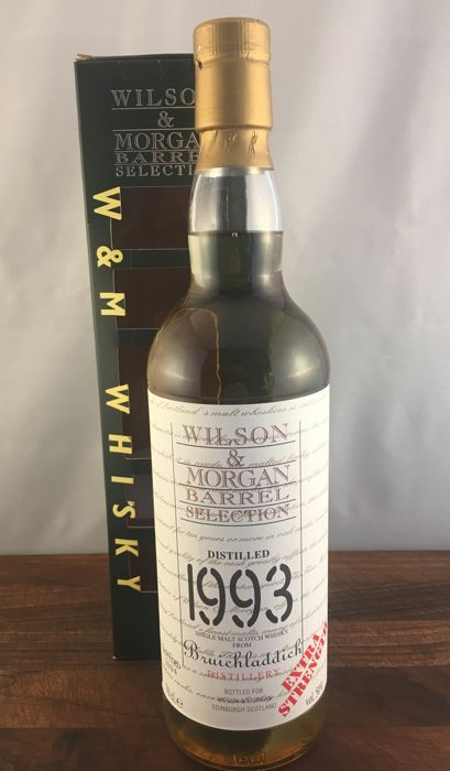 Bruichladdich 1993 Single Cask - Wilson & Morgan