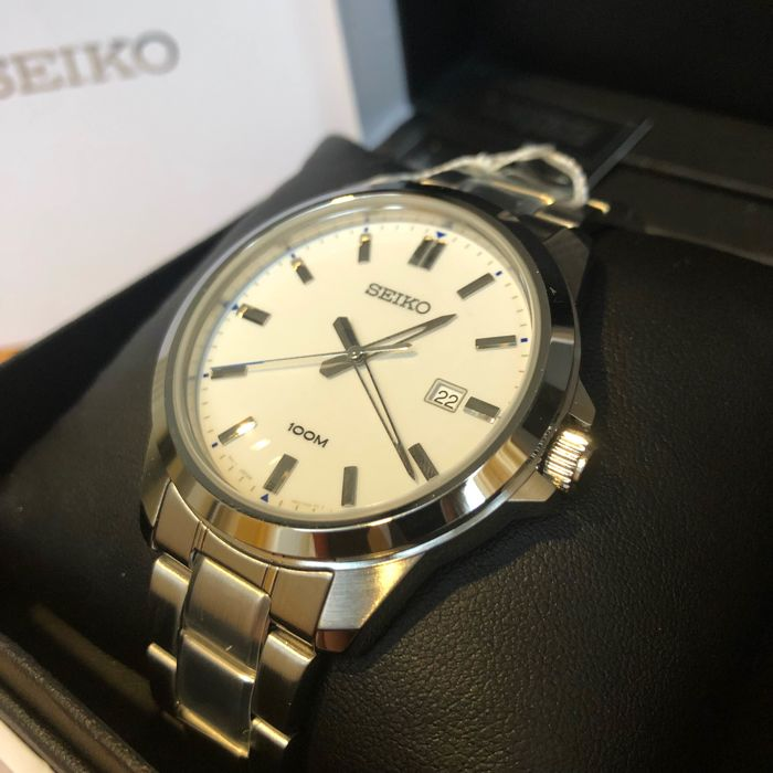 Seiko - Thin Dress White - Heren - 2011-heden