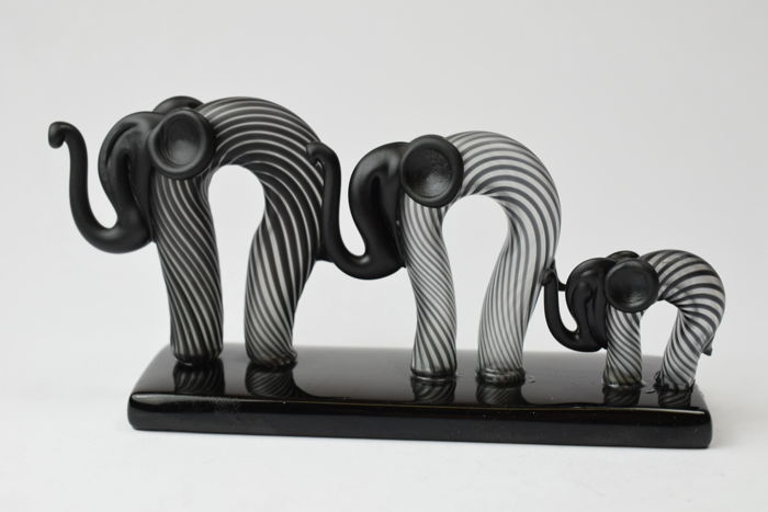 De Mio Giuliano - Collectable Family of Elephants