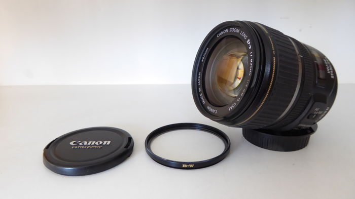 Canon 17-85 EF-S IS USM met B+W Pro filter