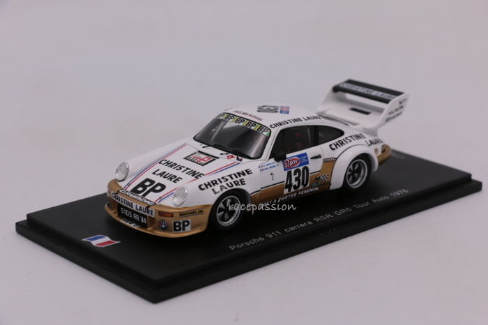 Spark - Scale 1/43 - Porsche 911 - Carrera RSR GR5 - 1976 - Limited Edition - #430
