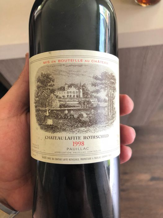 1998 Chateau Lafite Rothschild, Pauillac - 1 bottle