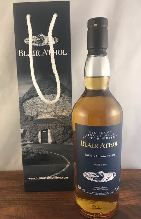 Blair Athol limited edition - Distillery exclusive