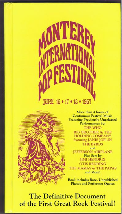 Various  - The Monterey International Pop Festival - 4CD longbox with book (Castle Communications - ROK CD 102)