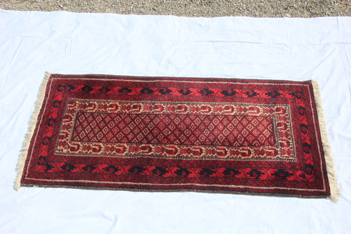 Beloutch rug, Iran, hand-knotted, 167 x 80