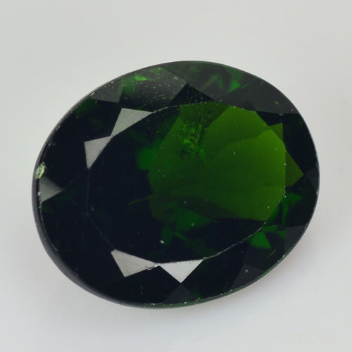 Chrome Diopside – 2.66 carat – Dark Yellowish Green – No reserve