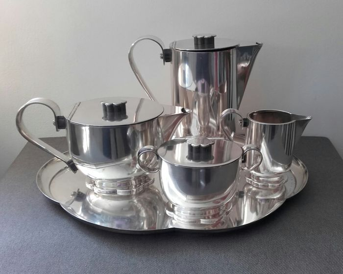 Wellner 5 - Art Deco coffee en tea set