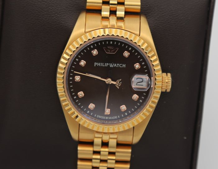 Philip Watch - Caribe con brillanti - R8253597520 - Dames - 2011-heden