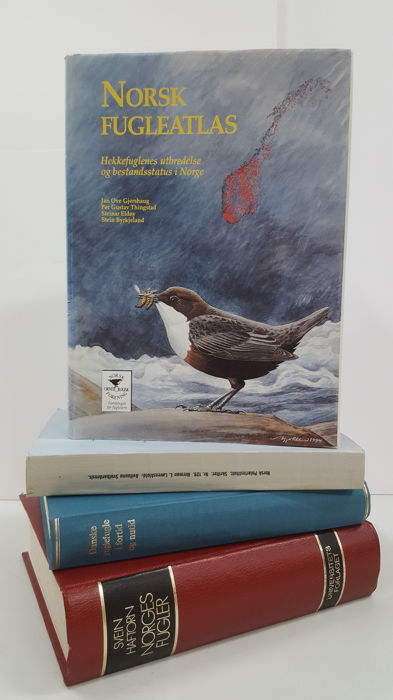 4 Scandinavian books on ornithology - 1963