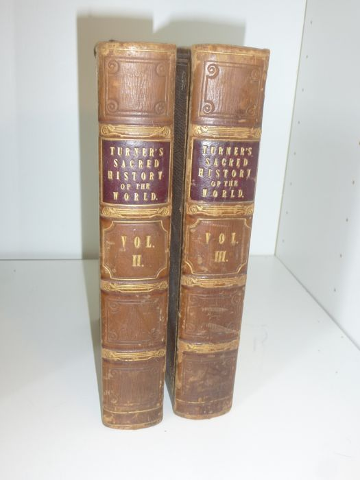 Sharon Turner - Sacred history of the world (vol 2 & vol 3) - 1834