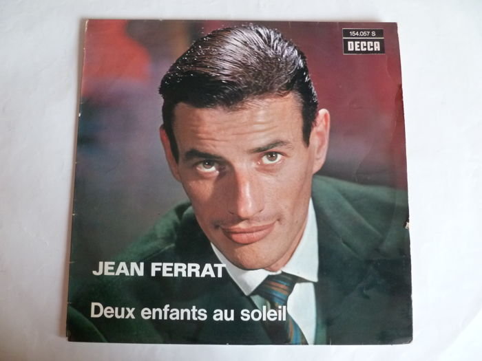 French songs - Lof of 21 LP's byJean Ferrat ,  A.Barriere , C.Aznavour , Brel  , H.Auffray , Brassens and Many More