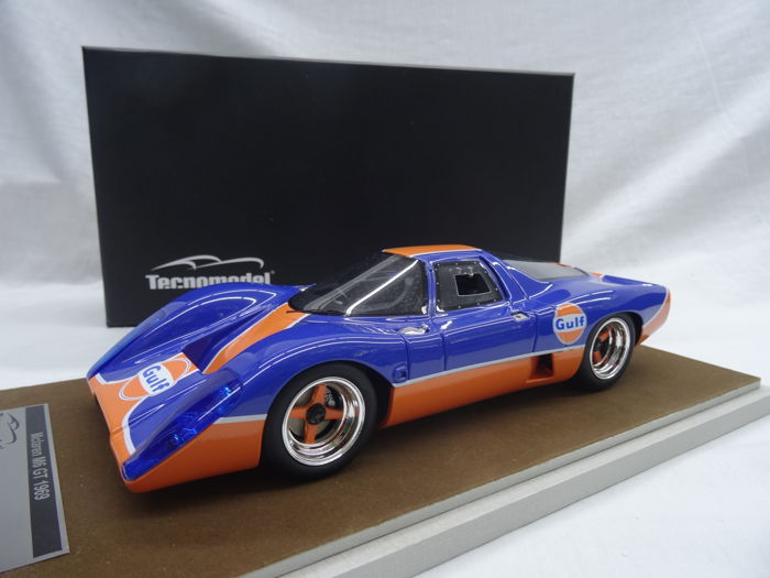 Tecnomodel - Scale 1/18 - McLaren M6 GT Gulf Version 1969 - Limited 100 pieces - Colour Gulf Edition