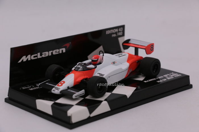 Minichamps - Scale 1/43 - Mclaren Ford MP4/1C - GP USA West - 1983 - Driver: N. Lauda