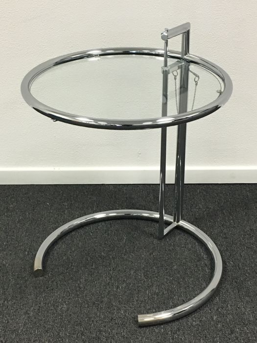 eileen gray by classicon adjustable table e1027