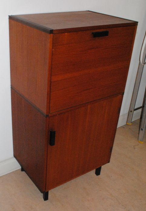 Cees Braakman for Pastoe - Bar or writing cabinet