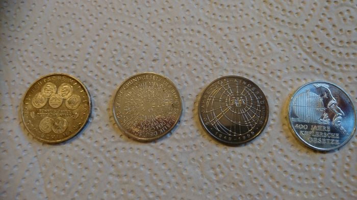 Germany - 7 coins - silver