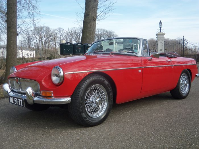 MG - B Roadster Mark 1  - 1965