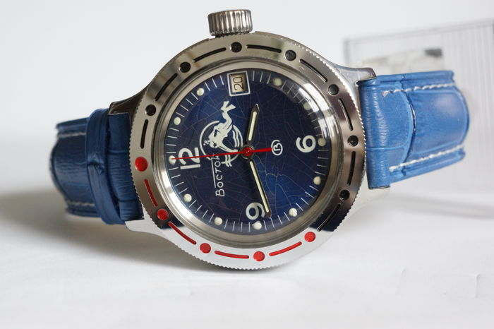 Vostok -  Amphibian Automatic Russian diver watch serviced - Heren - 1990-1999